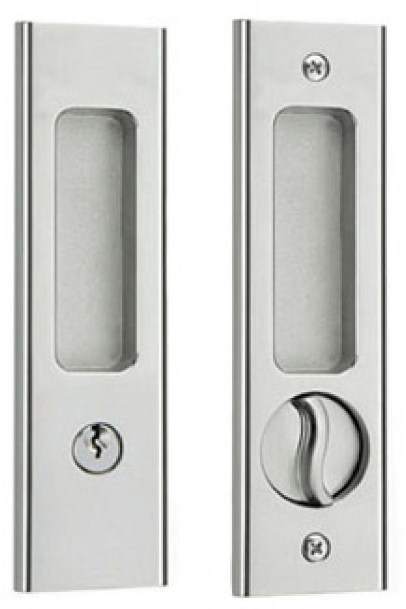 Sliding Door Handles With Key Lock
