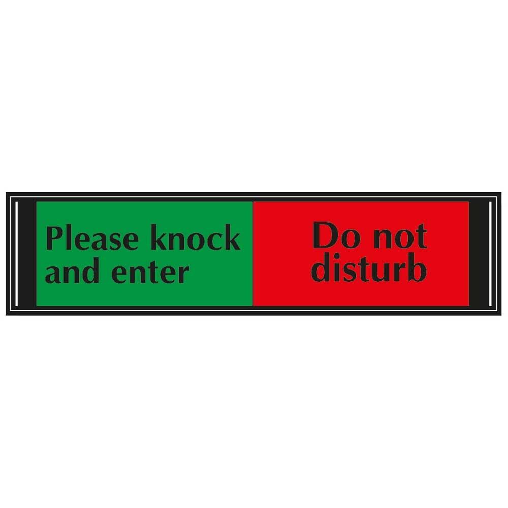 Sliding Door Sign Do Not Disturb