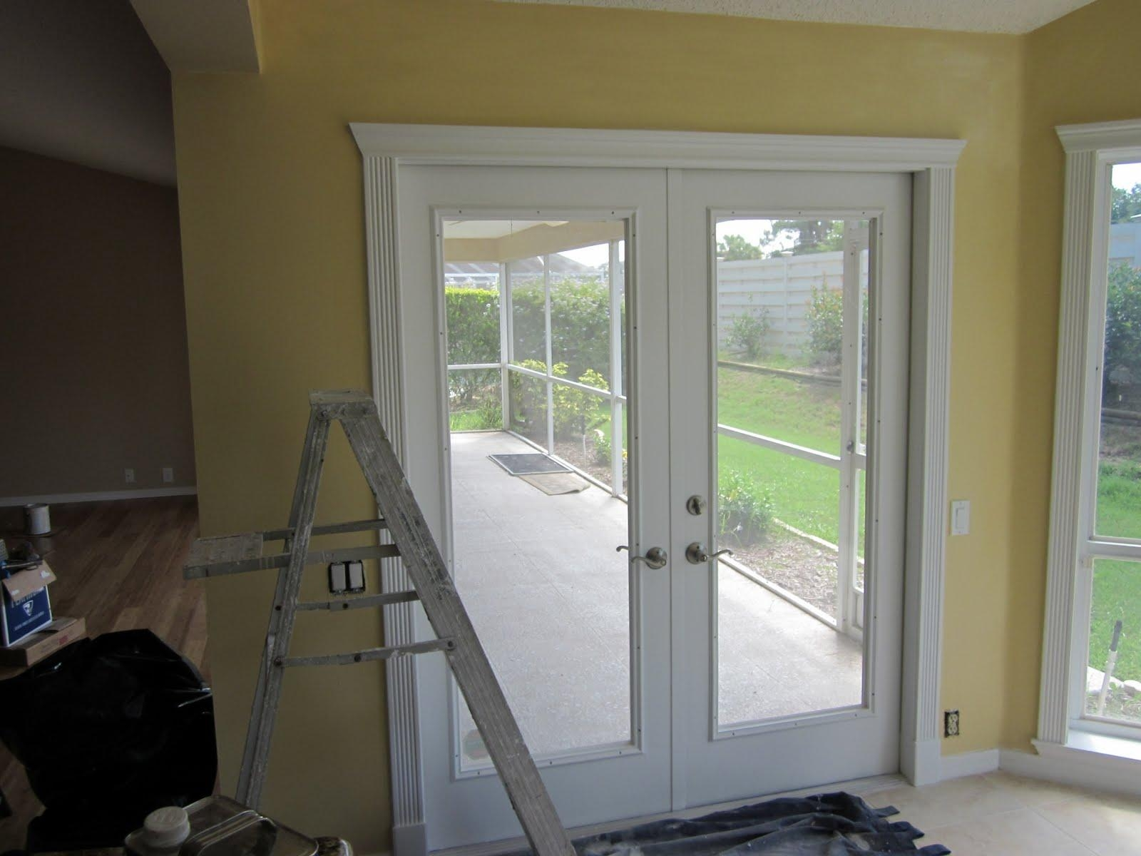 Sliding Glass Door Interior Molding