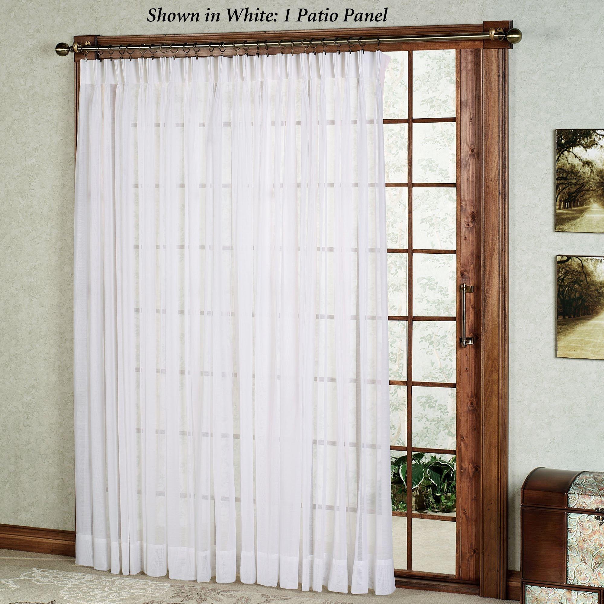 Sliding Glass Door Sheer Panels