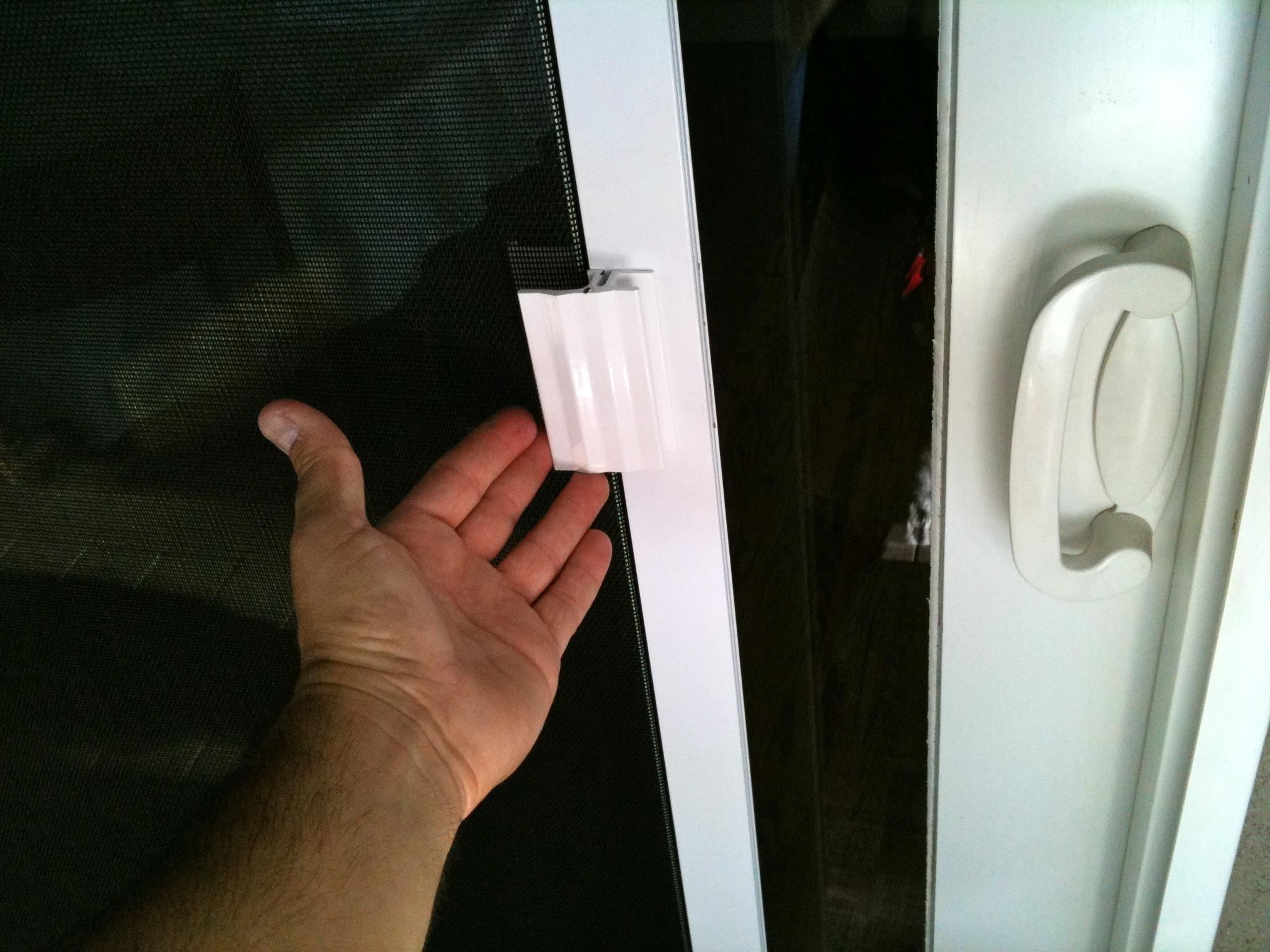 Sliding Screen Door Handle Guard