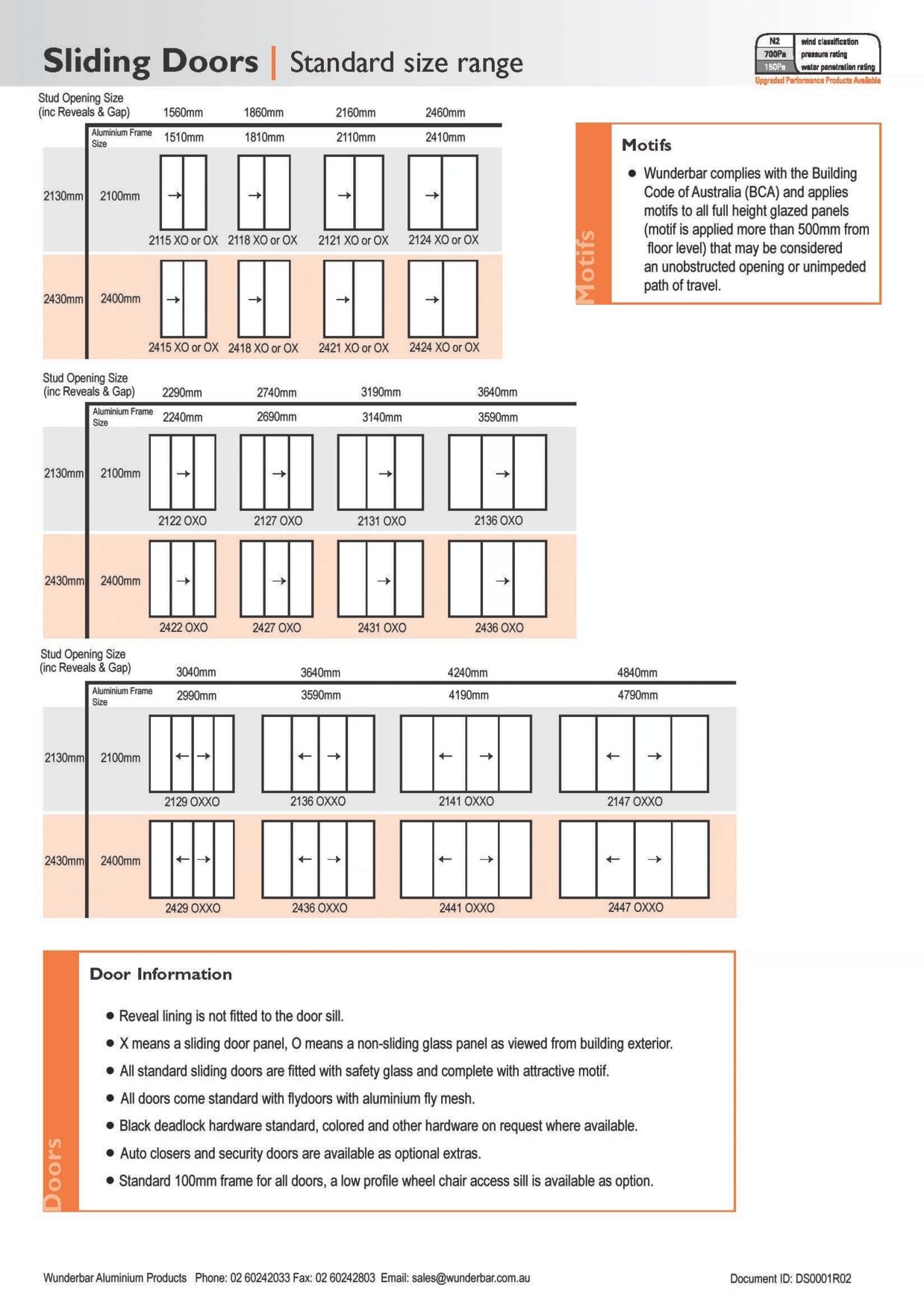 Standard Length Of Sliding Door1238 X 1754