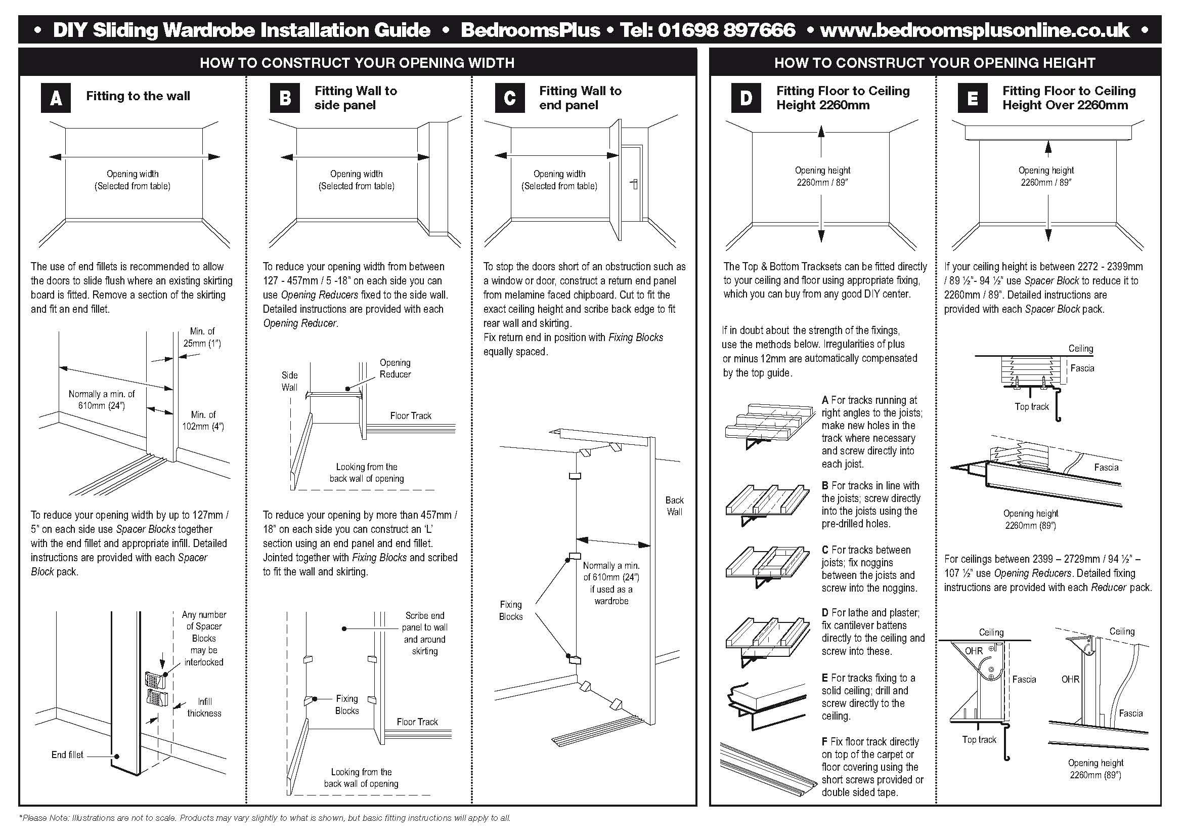 Stanley Sliding Wardrobe Doors Spares | Sliding Doors