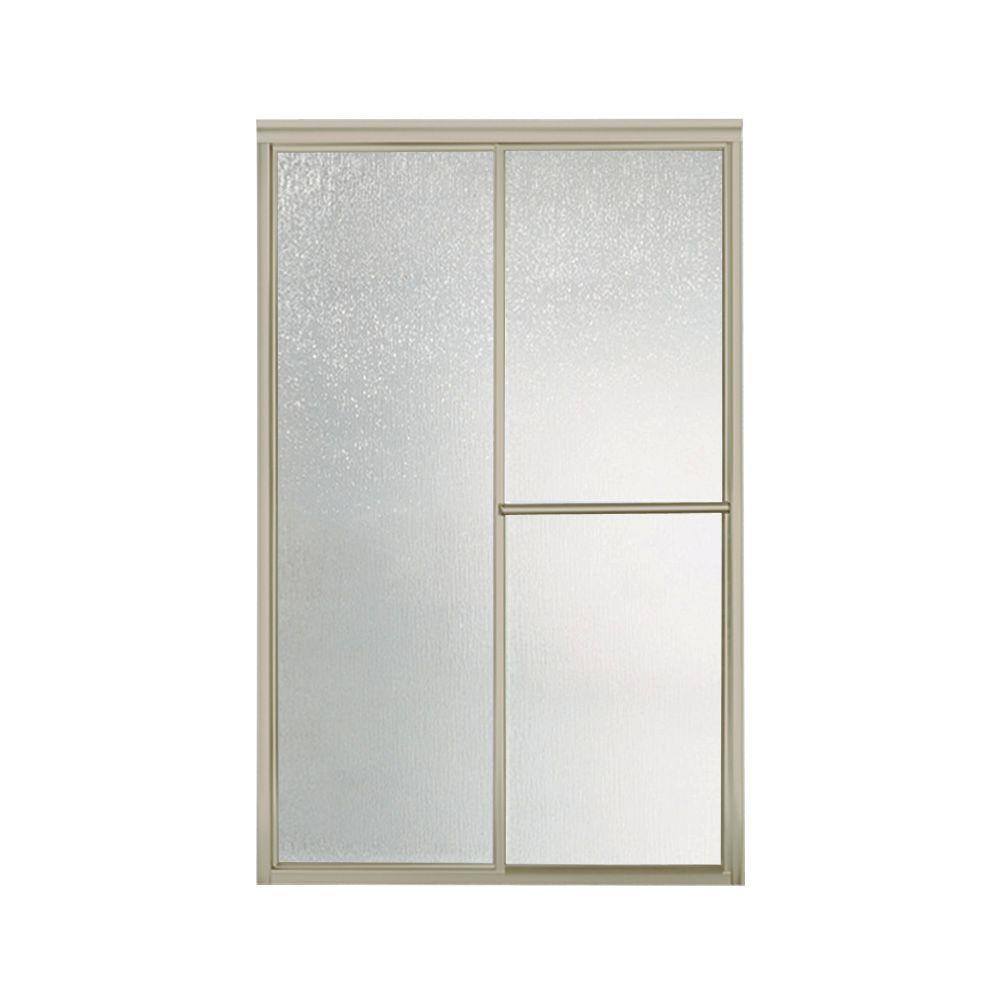 Sterling Deluxe Sliding Shower Doorsterling deluxe 48 78 in x 70 in framed sliding shower door in