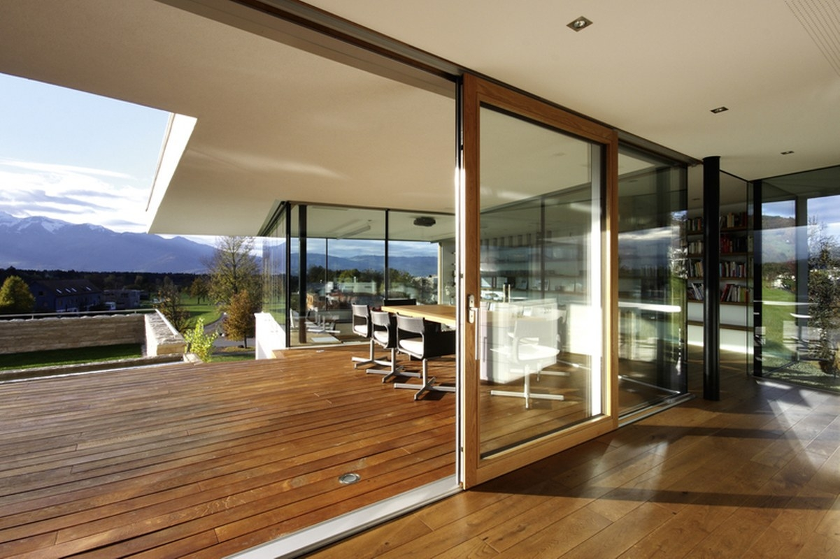 Triple Glazed Timber Sliding Doors1201 X 800