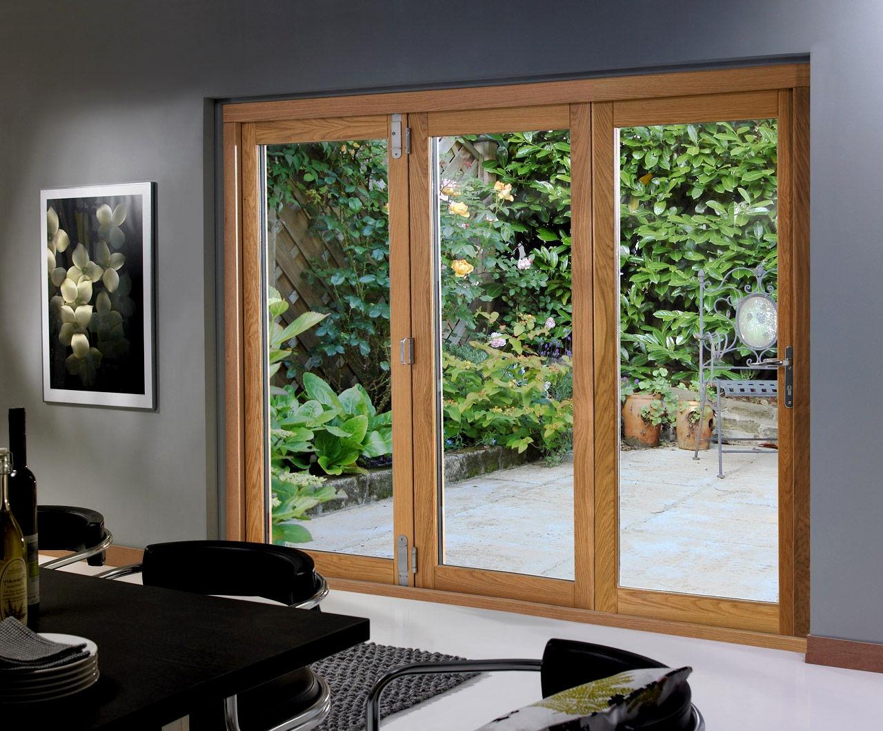 Triple Wide Sliding Glass Doors