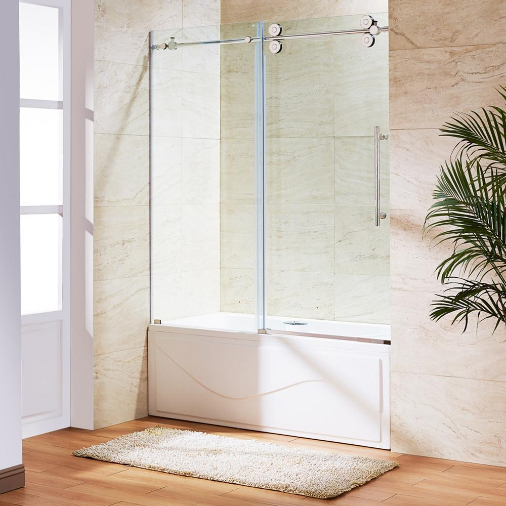 Vigo Frameless Sliding Tub DoorsVigo Frameless Sliding Tub Doors