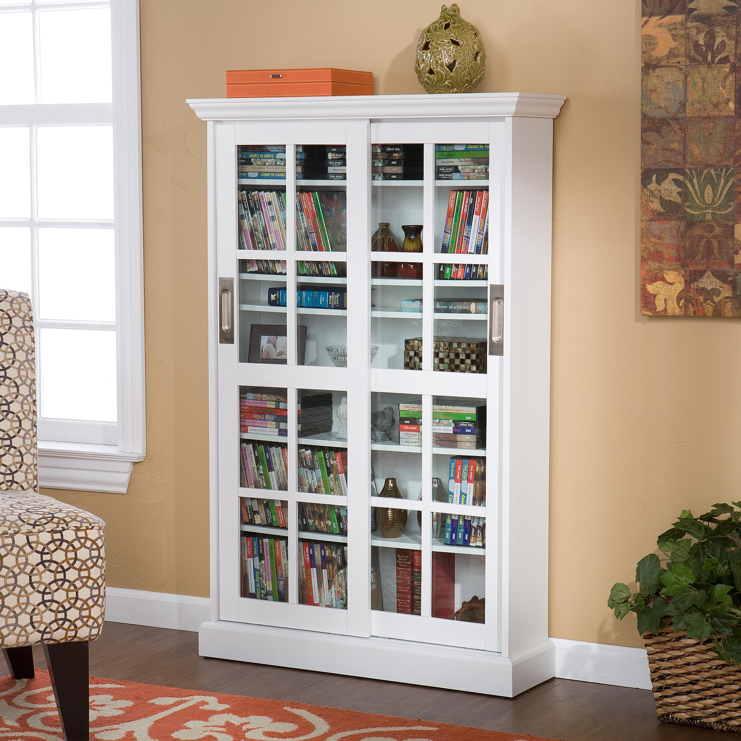 Wall Shelves With Sliding Glass Doors2500 X 2500