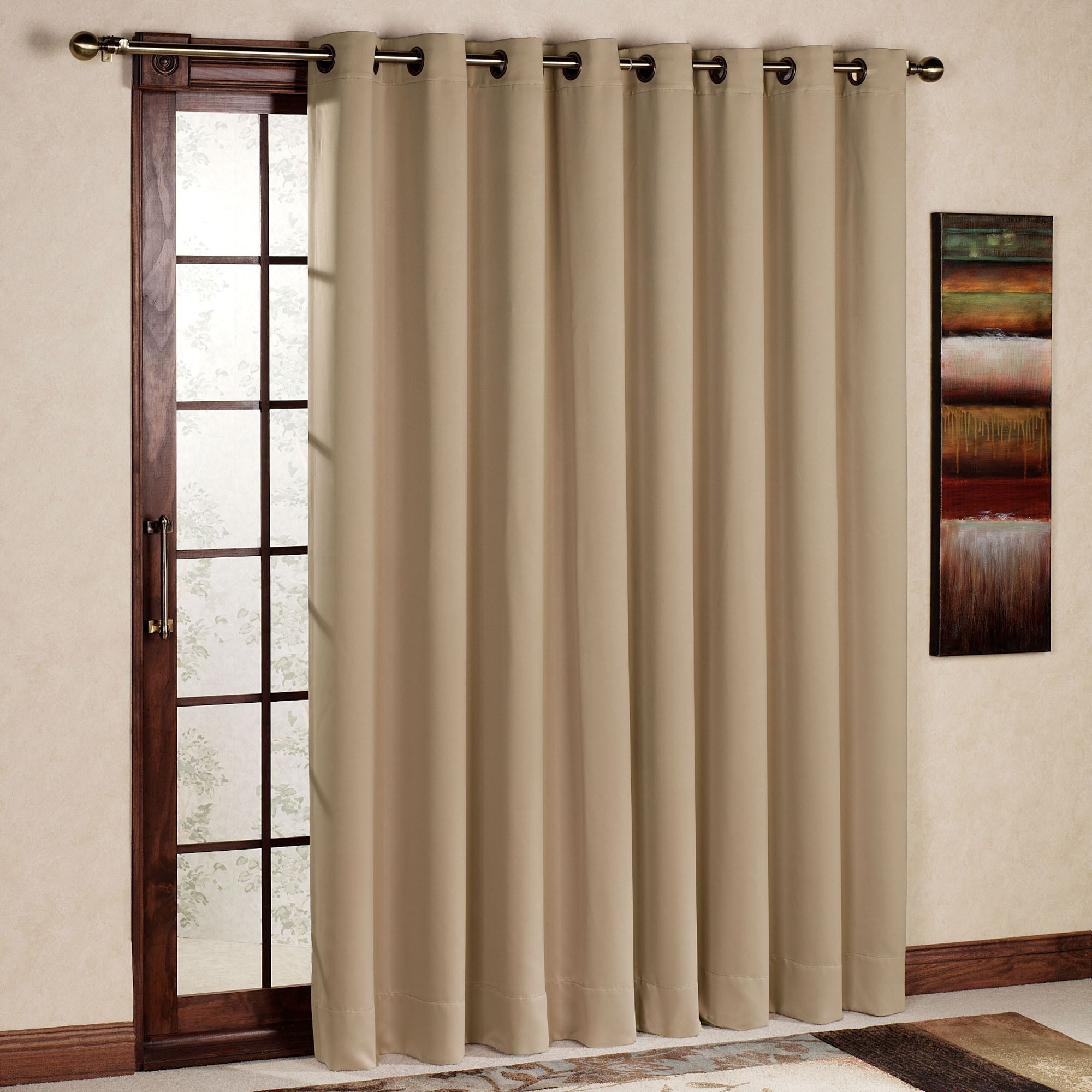 White Blackout Curtains For Sliding Glass DoorsWhite Blackout Curtains For Sliding Glass Doors