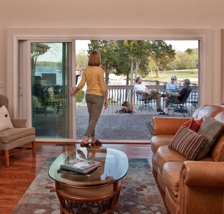4780 Sliding Pocket Patio Doorwindstrong impact rated vinyl windows mgm industries