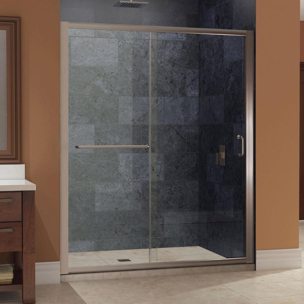 6 Foot Wide Sliding Glass Shower Door1024 X 1024