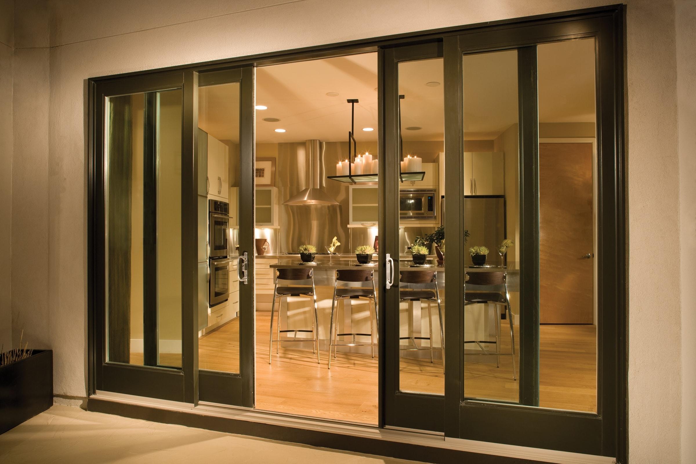 Andersen 4 Panel Sliding Patio Doorandersen 4 panel sliding glass door saudireiki