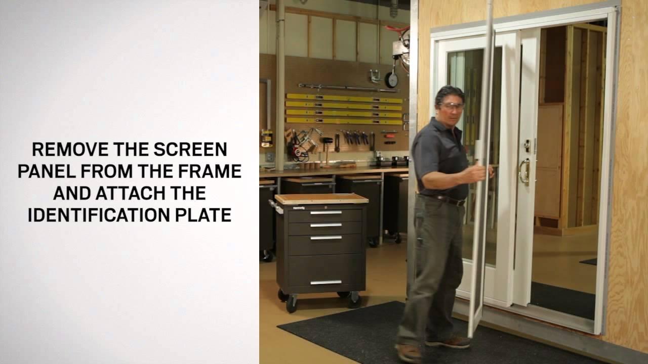 Andersen Sliding Glass Door Screen