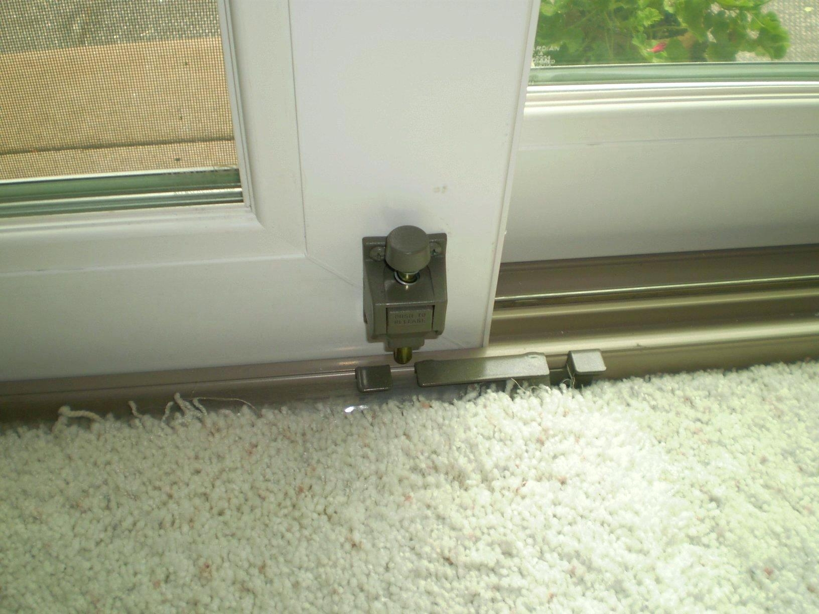 Anderson Sliding Door Foot Lock Sliding Doors