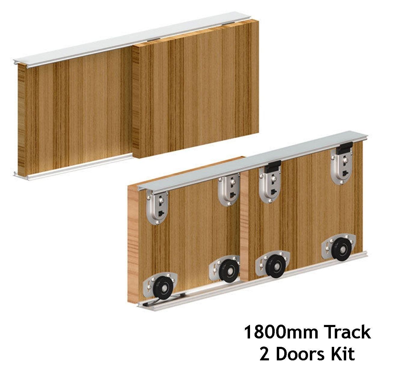 Ares Sliding Wardrobe Door Track Kit
