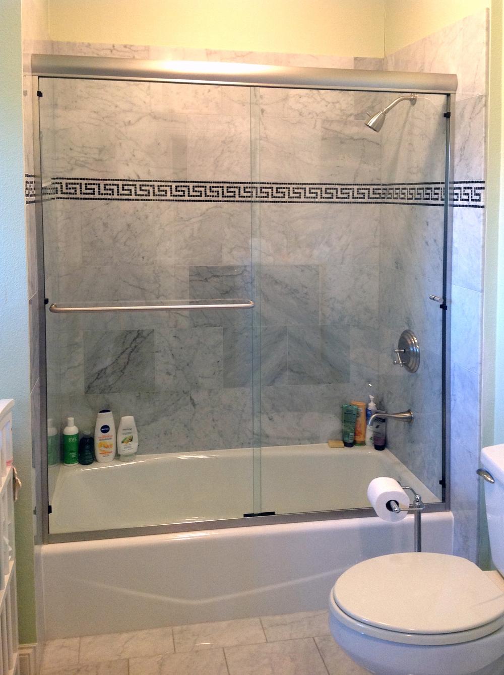 Bathroom Tub Sliding Glass Doors1000 X 1339