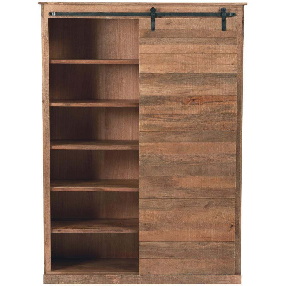 Bookshelf With Sliding Doors1000 X 1000