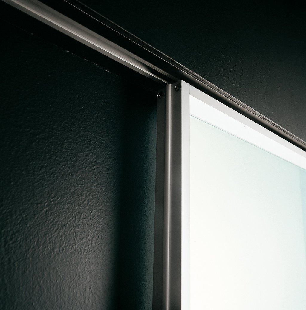 Ceiling Recessed Sliding Door Tracks