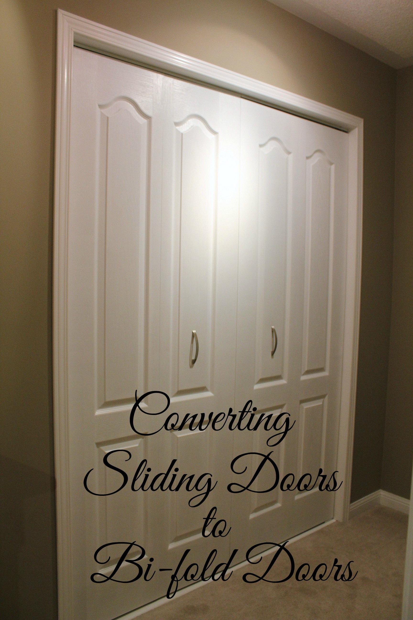 Change Sliding Closet Doors To BifoldChange Sliding Closet Doors To Bifold