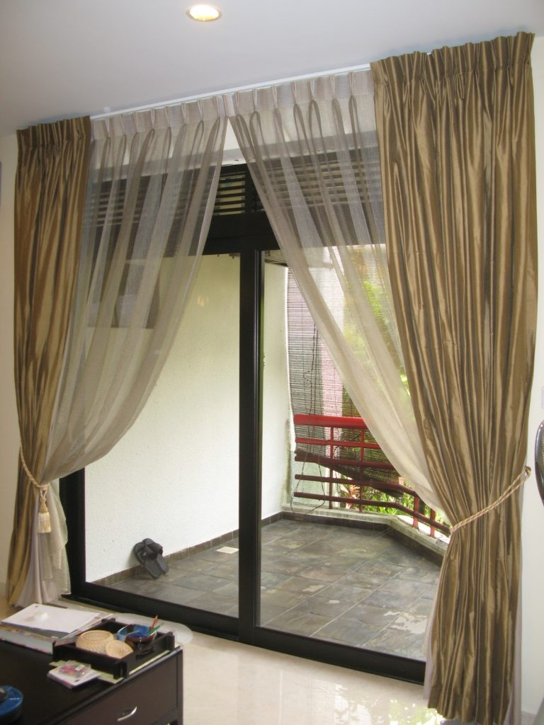 Curtain Styles For Sliding Doors768 X 1024