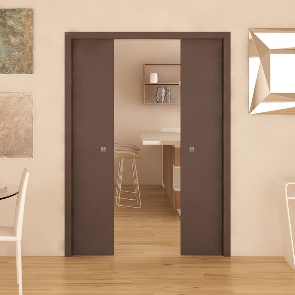 Double Sliding Pocket Door System