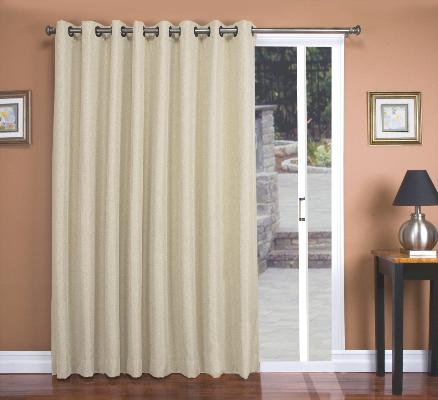 Energy Efficient Sliding Glass Door Curtains