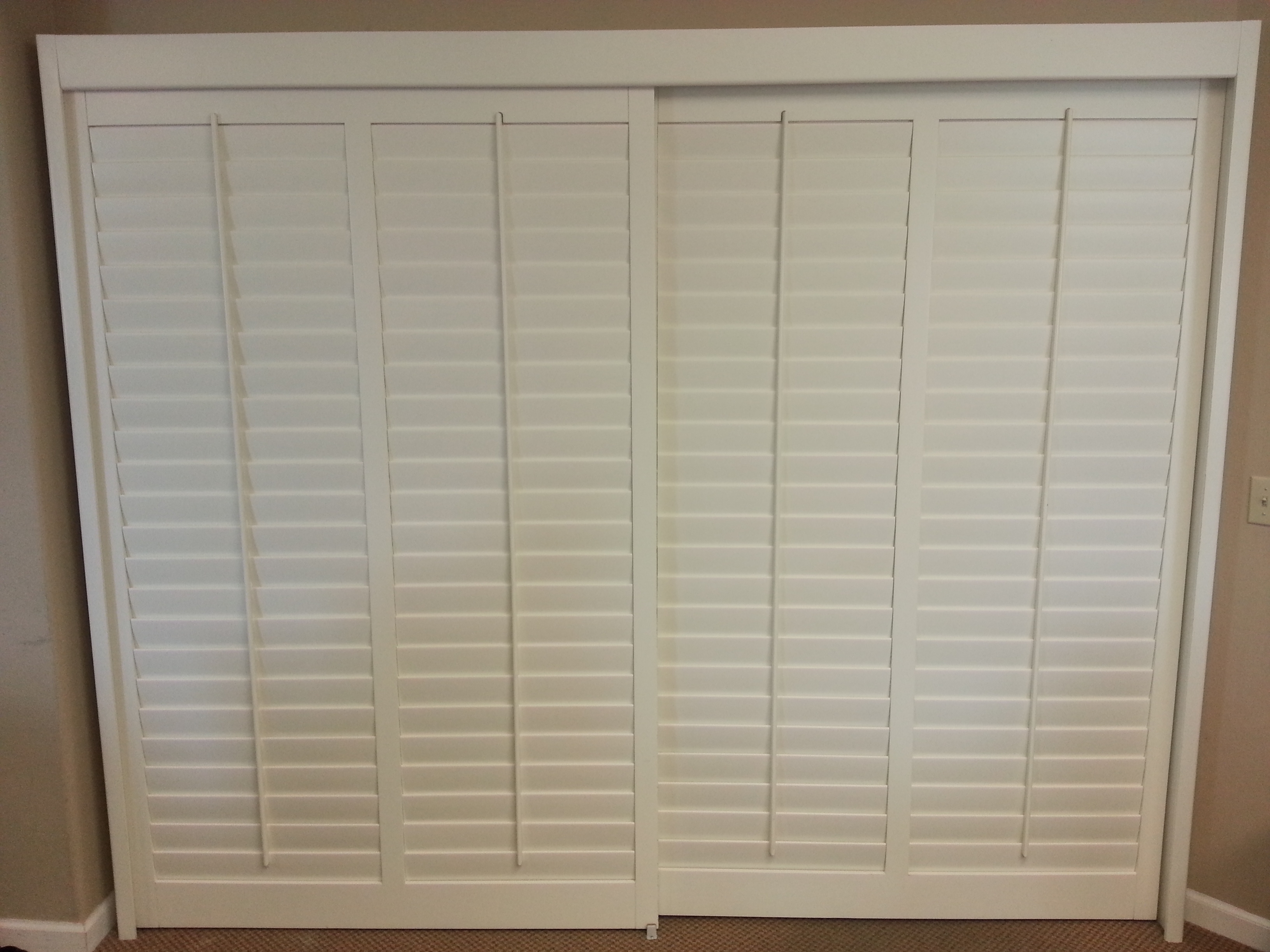 Faux Wood Shutters For Sliding Glass Doorsmeasuring plantation shutters for sliding glass doors