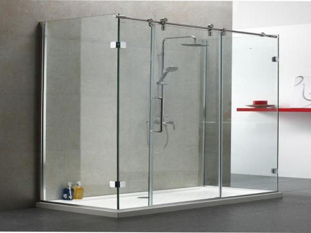 Frameless Sliding Shower Door Hardware KitFrameless Sliding Shower Door Hardware Kit