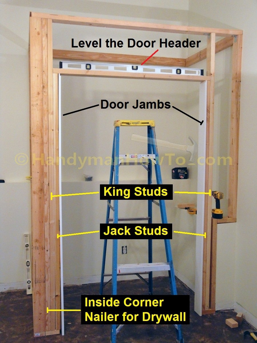 Framing Opening Sliding Closet Doors