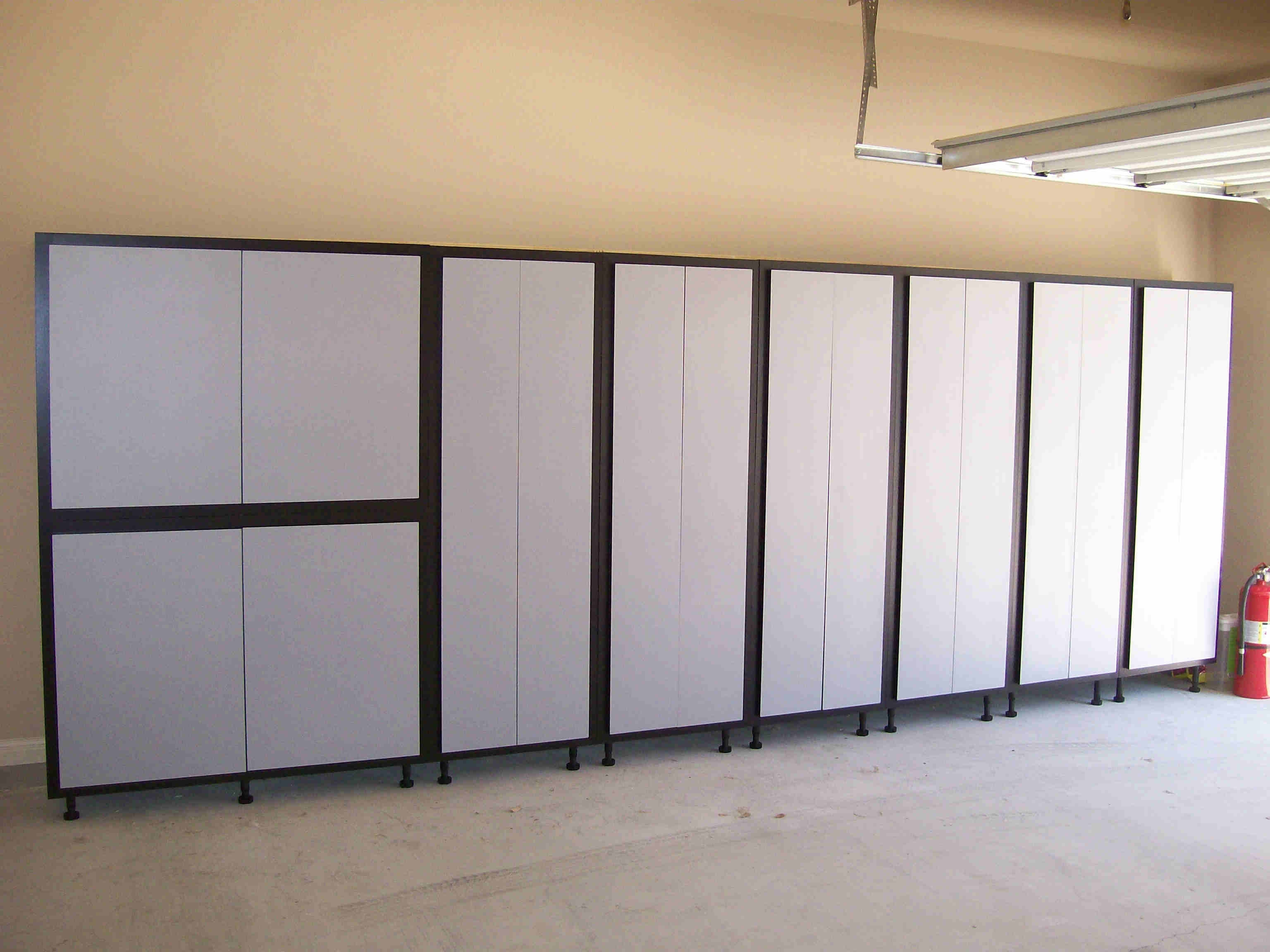 storage wall shelving cabinets solutions garage