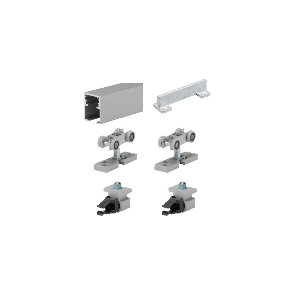 Grant 325 Sliding Door Hardwaregrant 6 ft hd single sliding door box track set for heavy duty