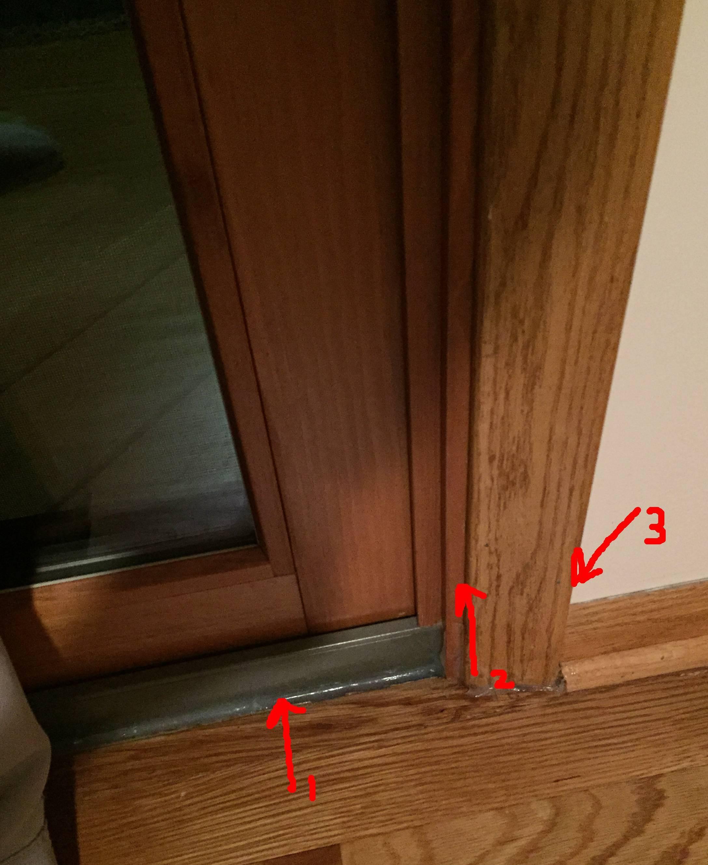 Insulate Sliding Glass Door Track