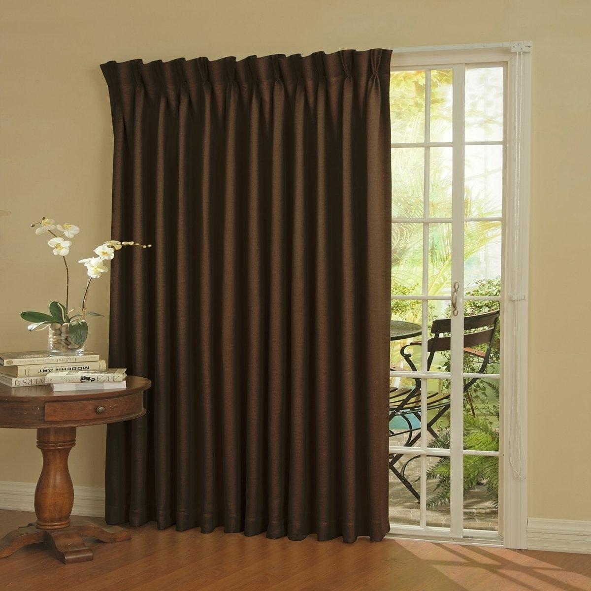 Insulated Sliding Glass Door CurtainsInsulated Sliding Glass Door Curtains