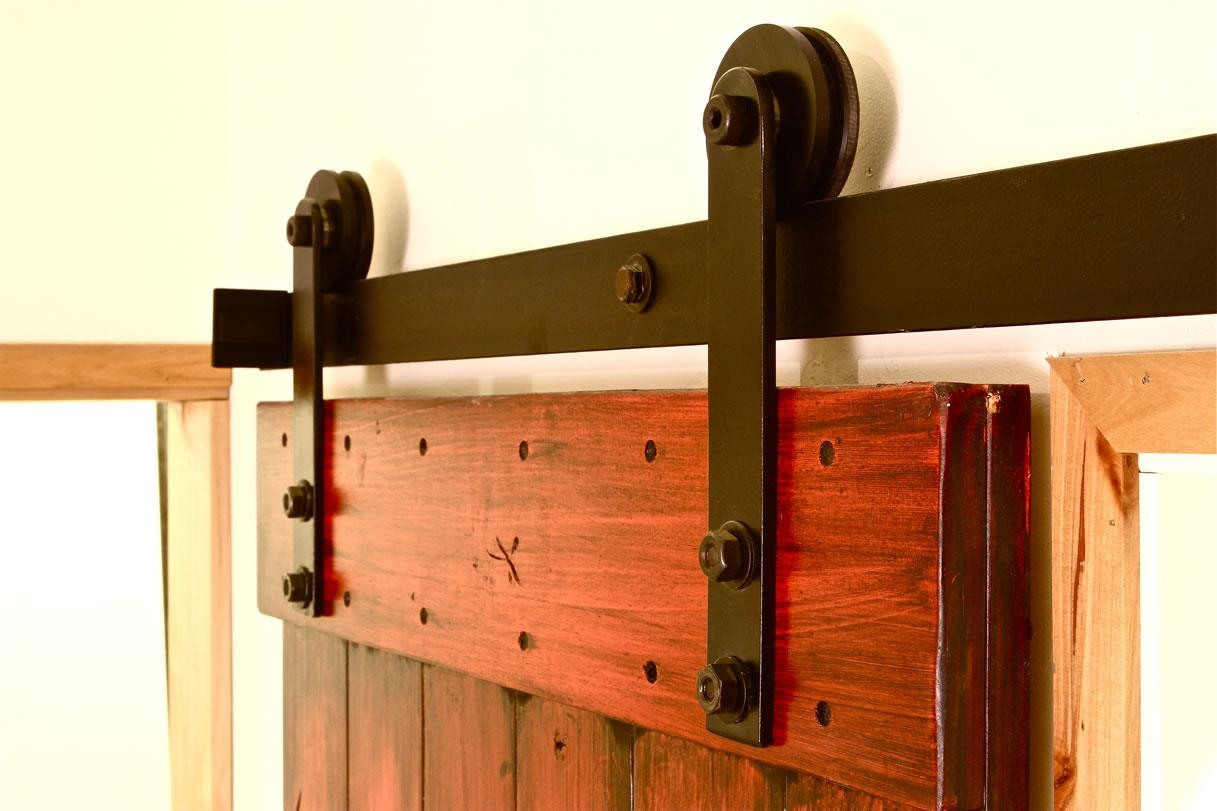 Interior Sliding Barn Wooden Door Hardware Track Setinterior sliding door hardware track set saudireiki