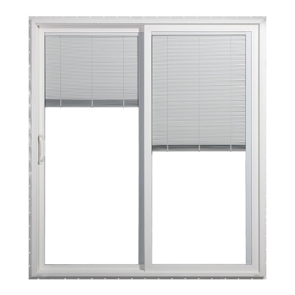 Jeld Wen Sliding Patio Door Handlesjeld wen 72 in x 80 in v 4500 series white left hand vinyl
