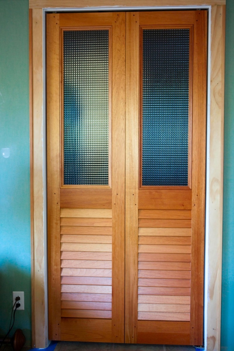 Louvered Sliding Doors Interior