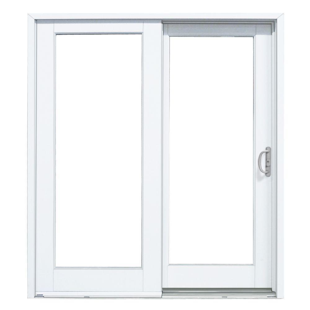 Masterpiece Sliding Door Screenmasterpiece 72 in x 80 in smooth white right hand composite
