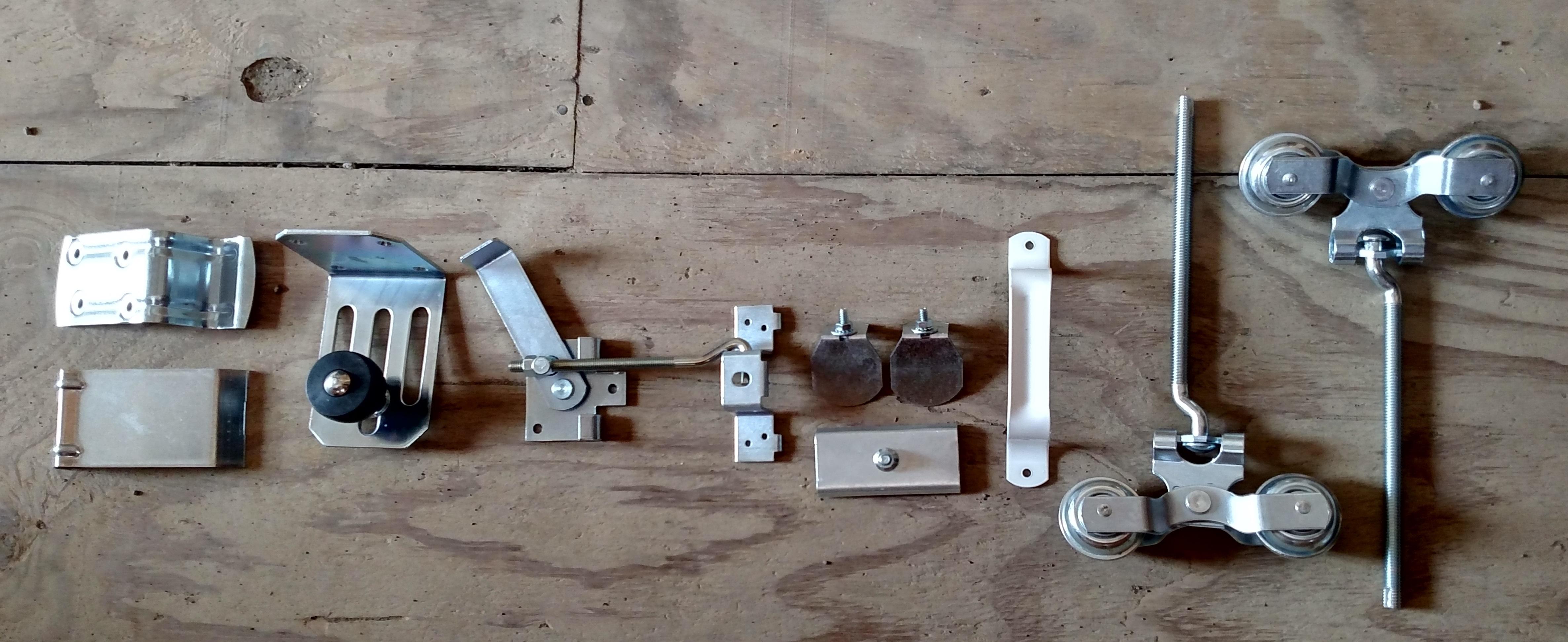Metal Barn Sliding Door Hardware4745 X 1943