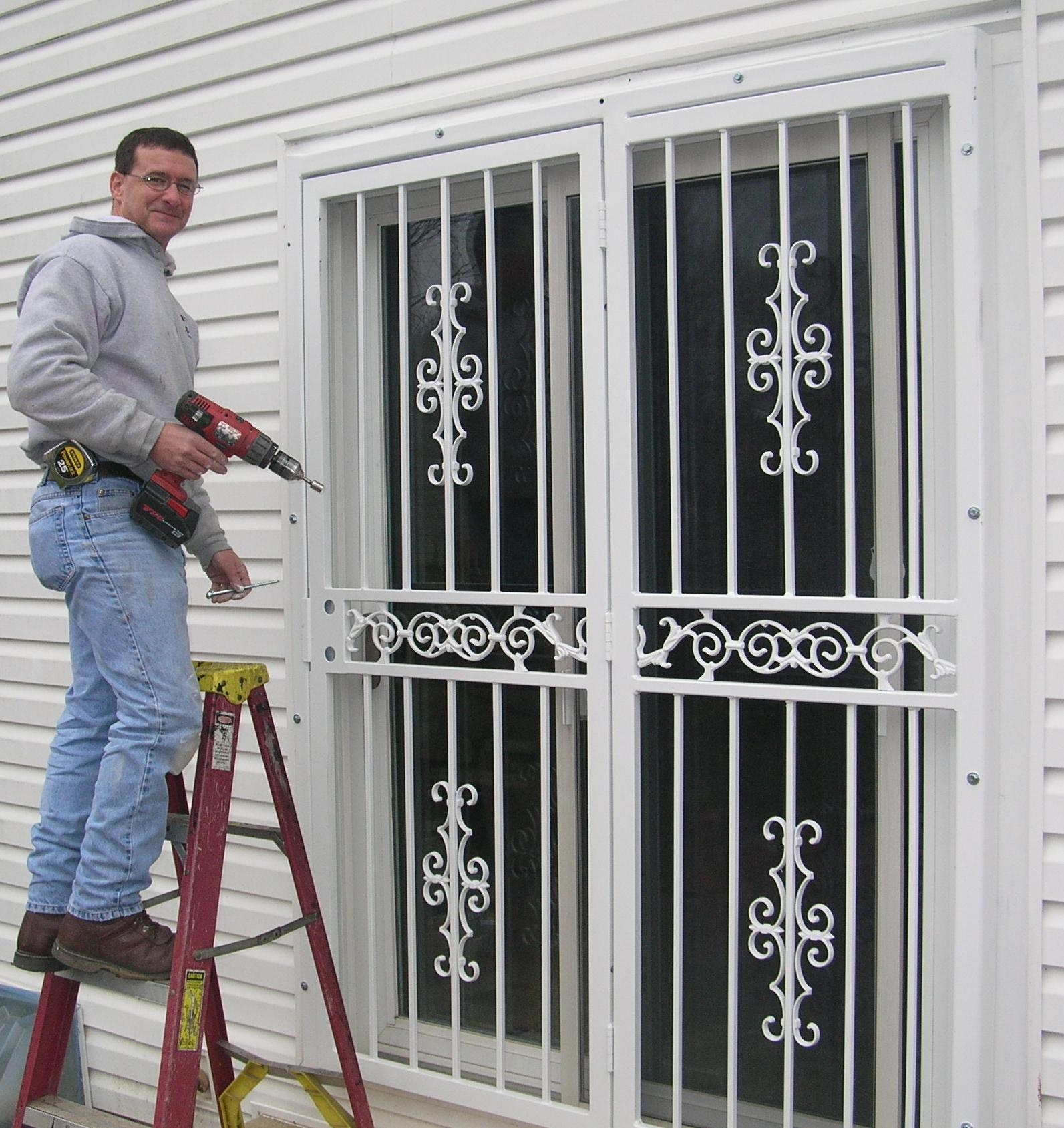Metal Security Doors For Sliding Glass Doors1593 X 1689