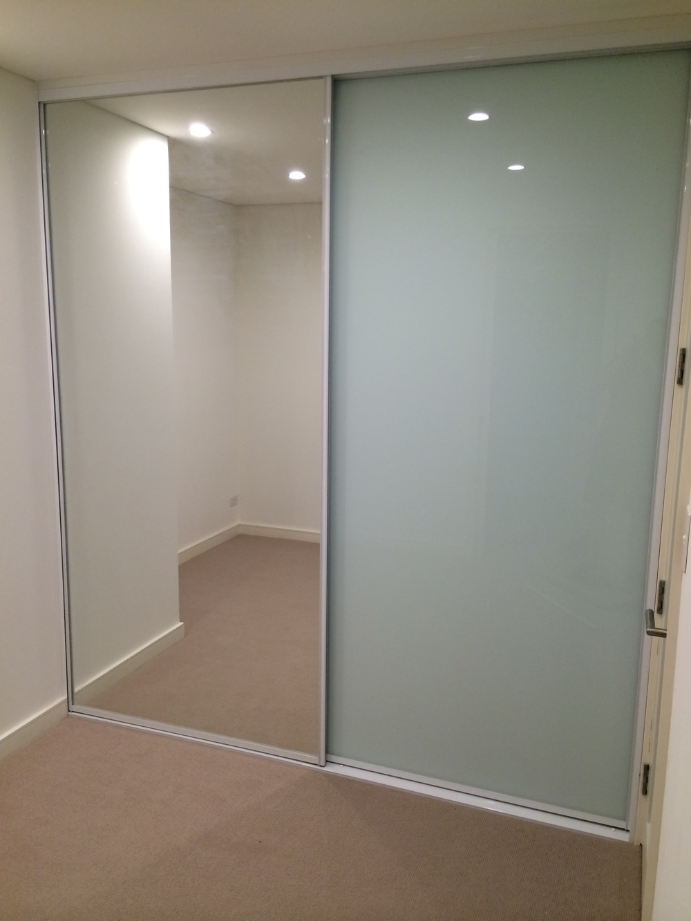Opaque Glass Wardrobe Sliding Doors1000 X 1333