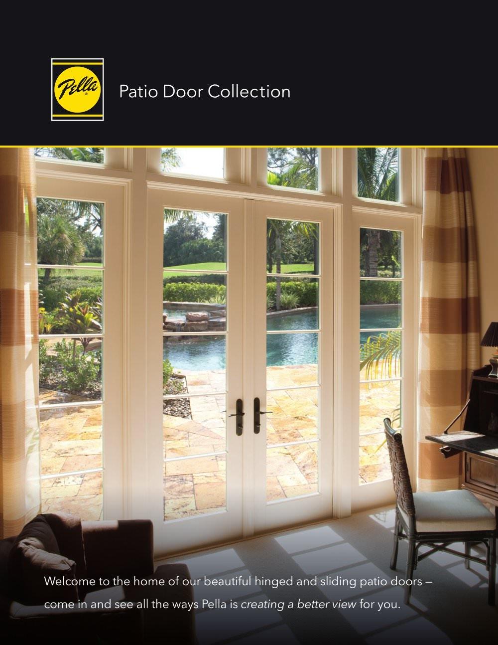 Pella 350 Series 4 Panel Sliding DoorPella 350 Series 4 Panel Sliding Door