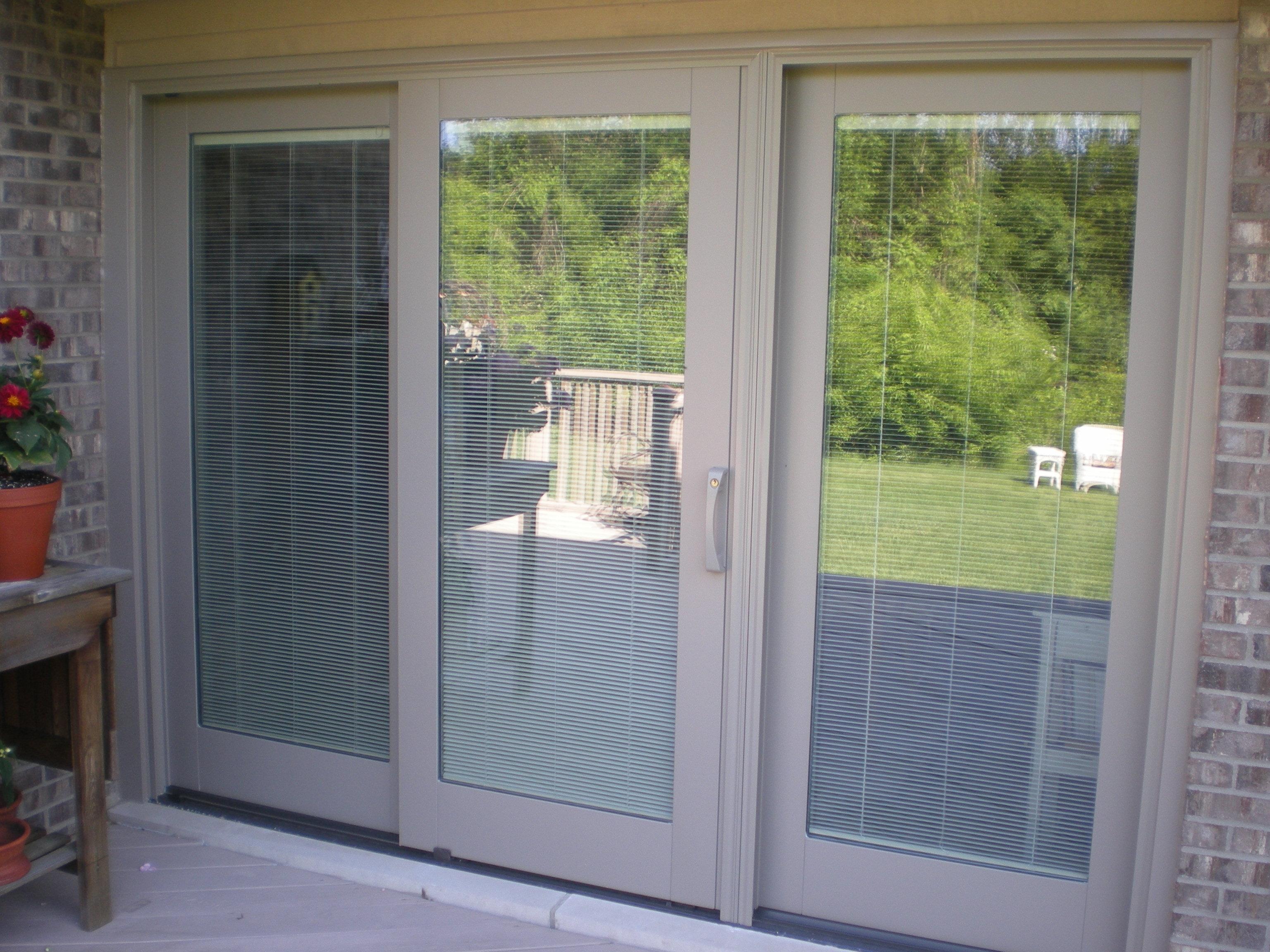 Pella 350 Sliding Door With Blindspella 350 series sliding door with blinds sliding doors design