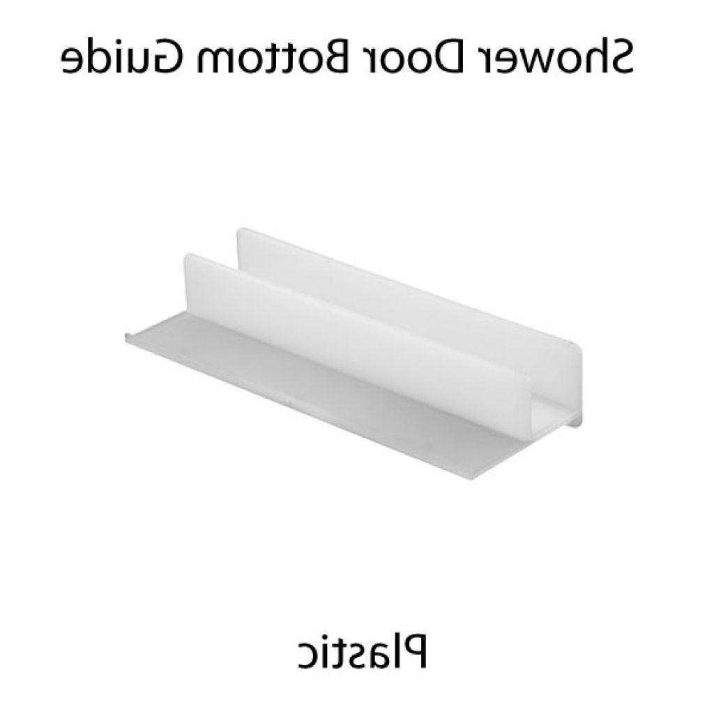 Plastic Sliding Shower Door Bottom Guide