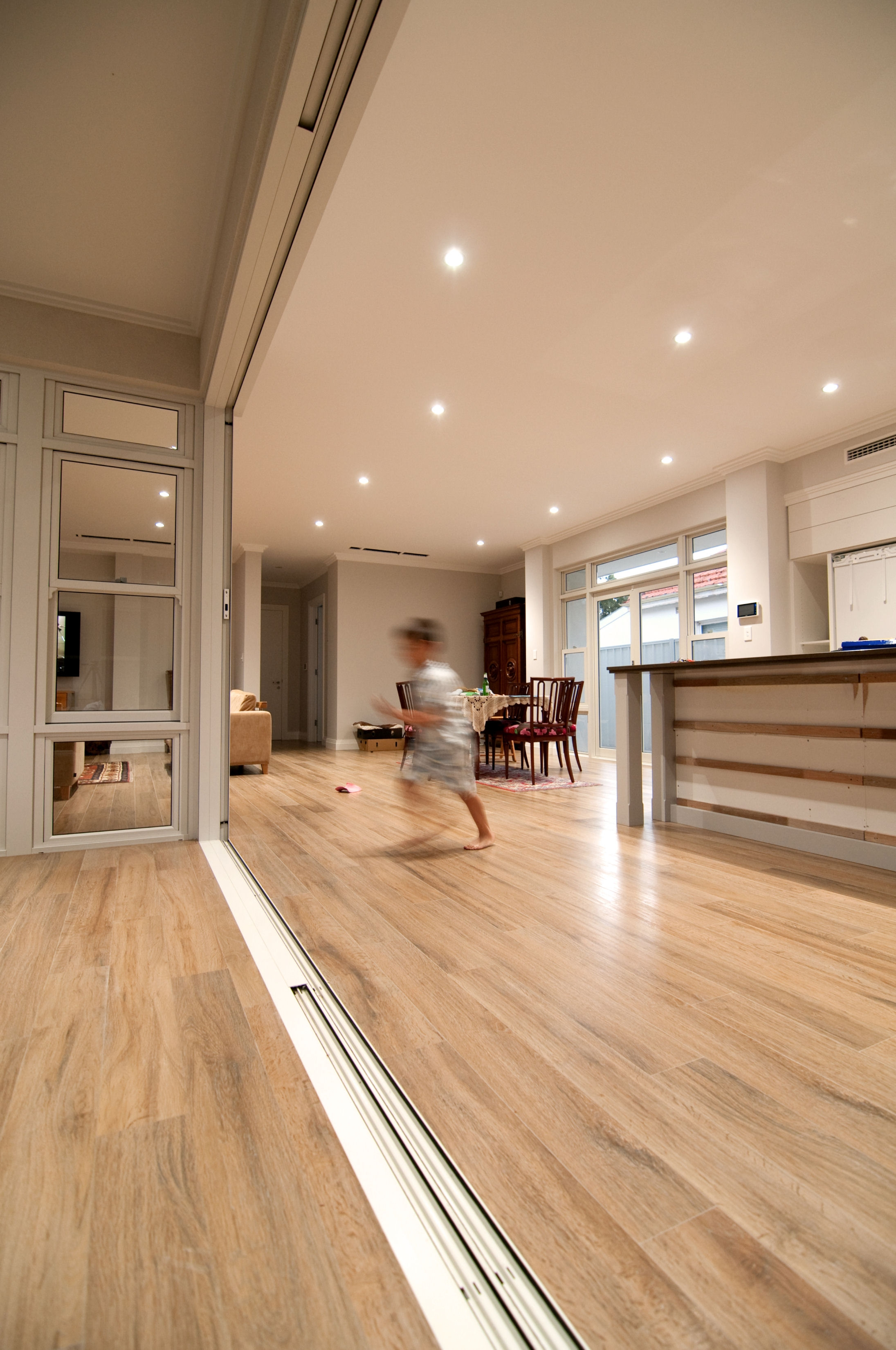 Recessed Sliding Door Floor Track Sliding Doors