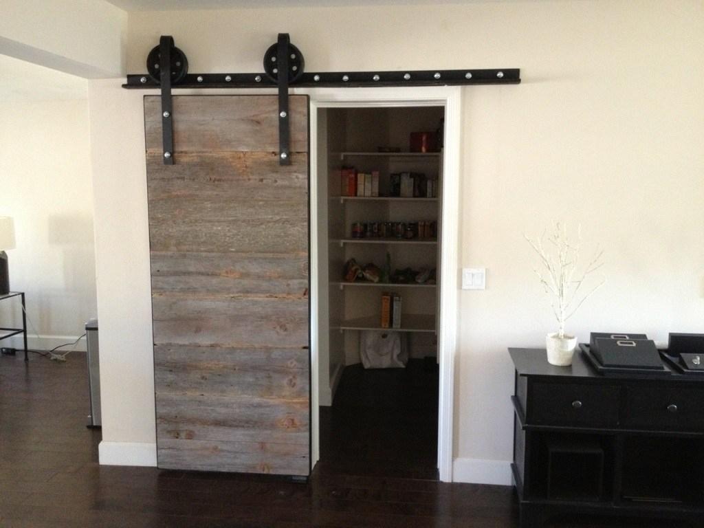 Reclaimed Barn Wood Sliding Doors