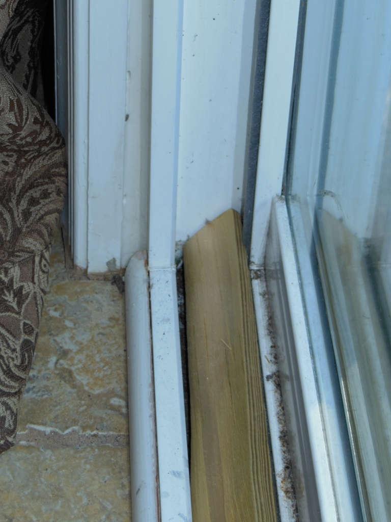 Secure Sliding Door Outside Track768 X 1024