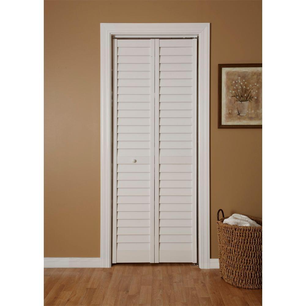Shutter Style Sliding Closet Doors1000 X 1000