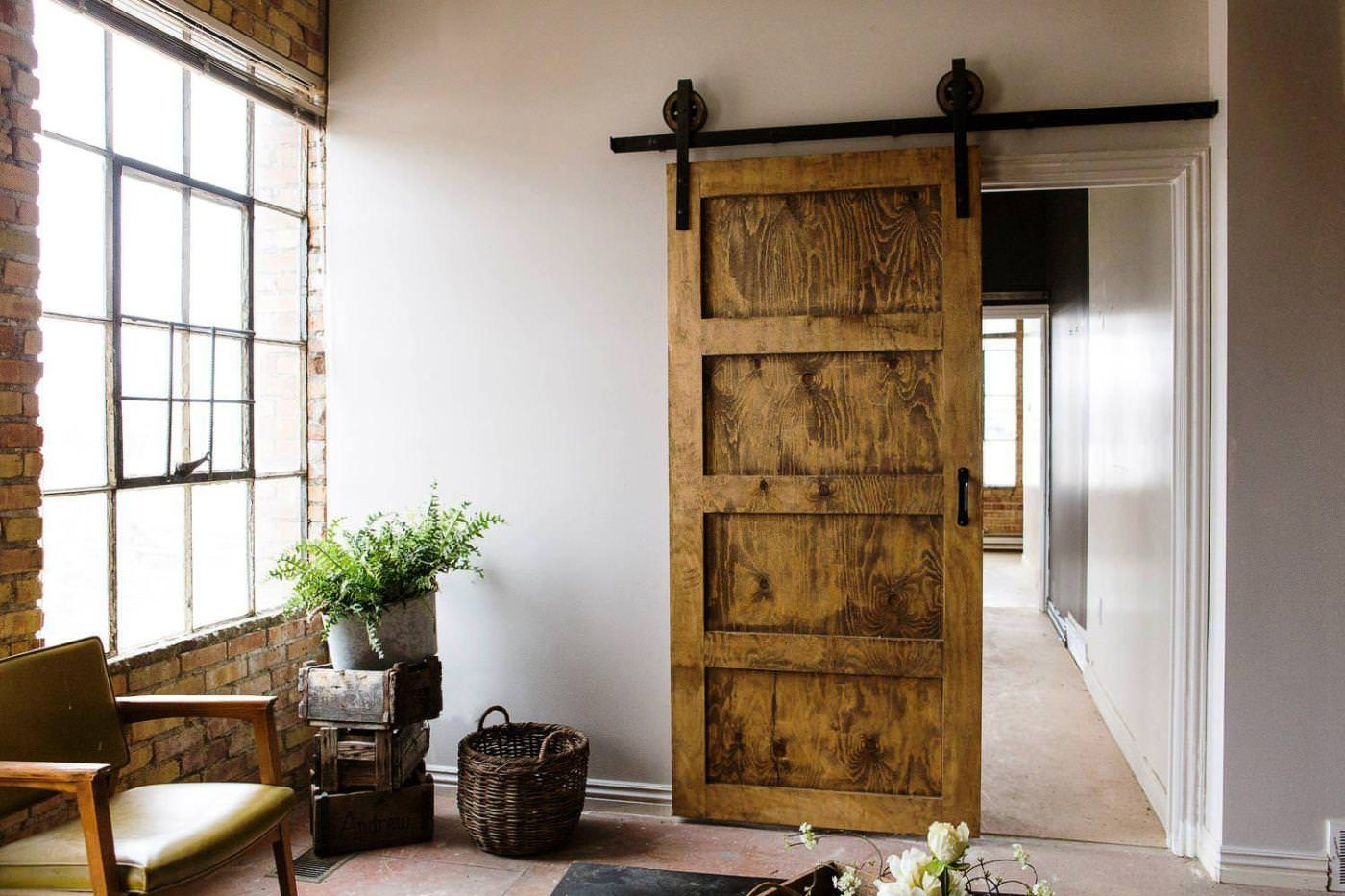Sliding Barn Door Interior HouseSliding Barn Door Interior House