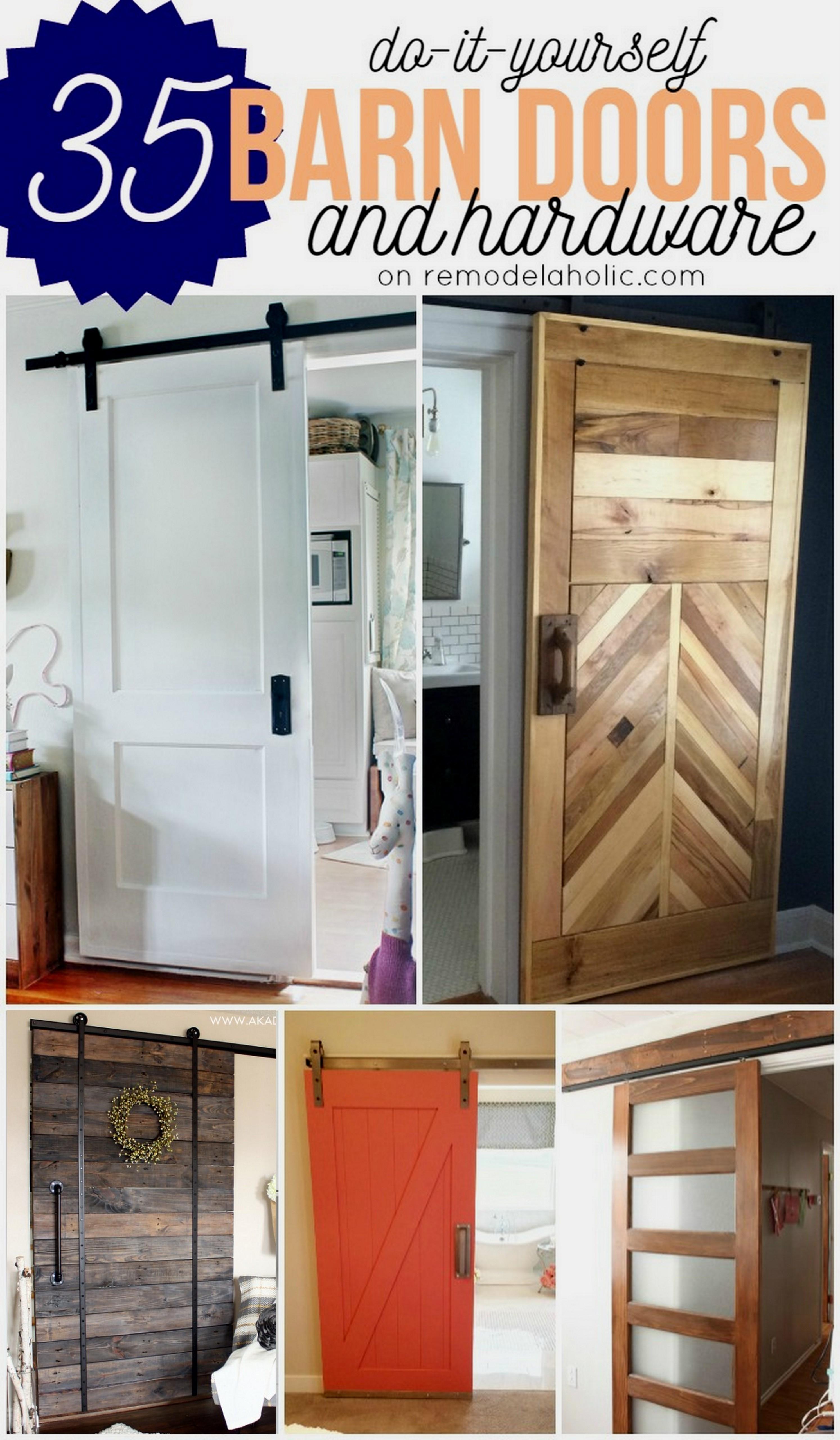 Sliding Barn Door Plans Ideas