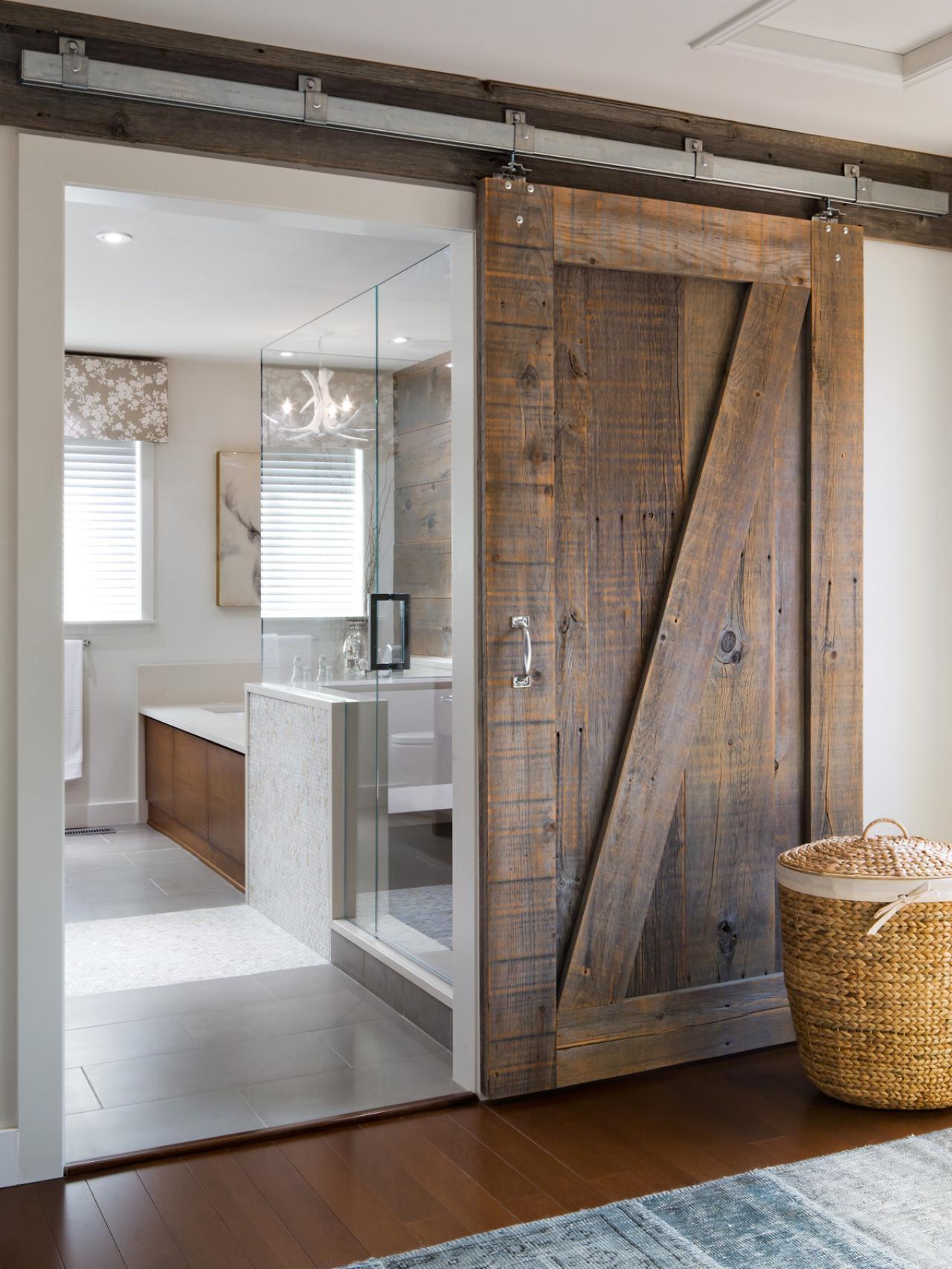 Sliding Barn Doors For Homesravishing sliding bathroom barn doors for homes for modern